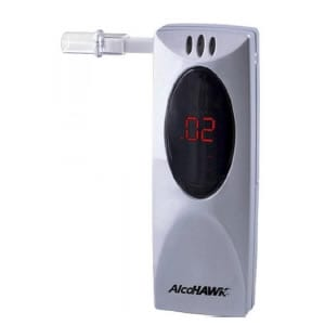AlcoHawk Slim Breathalyzer Berean Screening