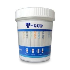 Wondfo Brand T-Cup 10 Panel Drug Test Cup