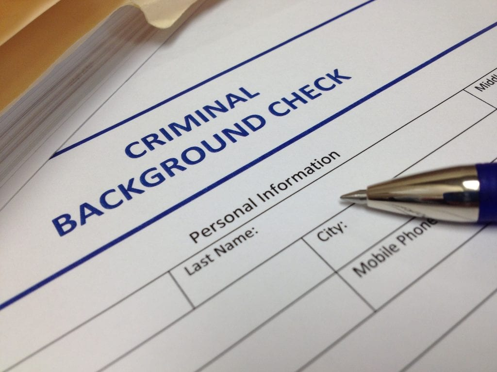 criminal background berean employee screening